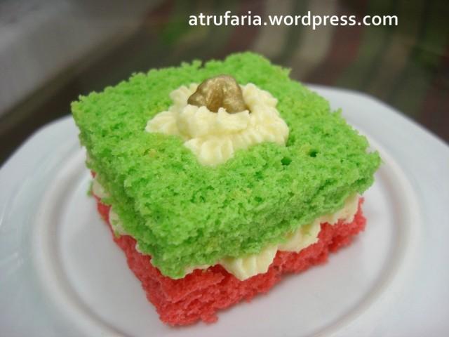 Mini Cake Quadradinho , do tamanho de um pão de mel...