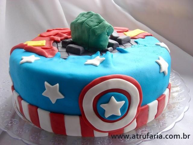 Uma face para o Capitão América...