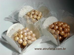 Brigadeiro Gourmet no Chocoball Perolado