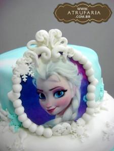 Detalhe retrato da Elsa