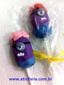Cakepop Minion Roxo